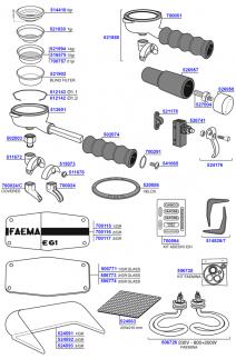 e61 and faemina miscellaneous parts